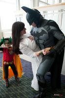 Damian Epic  Photobomb   Mark Shafer by ComicChic19
