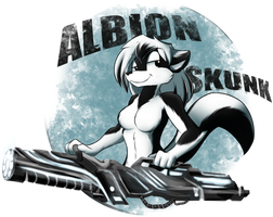Albion Skunk by infinitedge2u