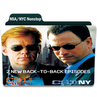 CSI: MIA/NYC Nonstop by Movie-Folder-Maker