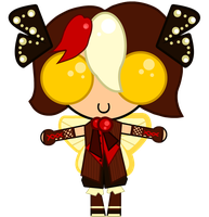My Gaia Chibi by Bottled-Love