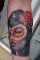 La Catrina Tattoo by graynd