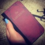 The Labyrinth Phone Case Book by LexCorp213