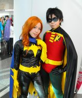 Robin and Batgirl 2 by fuuyukida