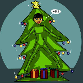 Put your presents under this thing by parangsakti