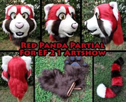 Red Panda Partial for EF 21 by Sethaa