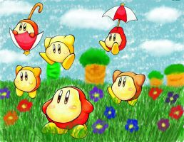 Waddle Dee on Parade by Kirukirururin