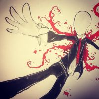 Slenderman by ActressandOwl