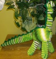 Amigurumi Long Neck Dinosaur by ShadowOrder7