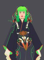 Cyber girl 2_main colors by dimary