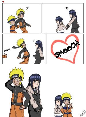 naruto during shippuden, but i have to say hinata