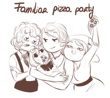 Pizza by MaryLittleRose