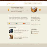 Crisp website template by bevel-and-emboss