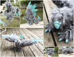Wild Gryphon Art Doll by BeeZee-Art