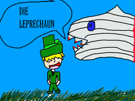 Leprechaun is gonna get eaten by sharks by Tom-and-Rashu