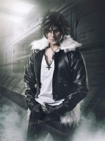 Squall by Rebeca Saray by PinkuCrown