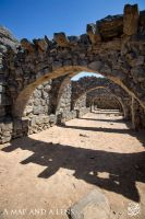Azraq Castle: The Stables by Mgsblade