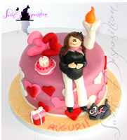 Lovely mum cake by sweetdisposition14