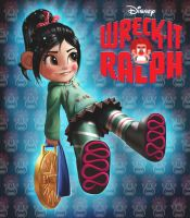 Wreck-It Ralph : vanellope by animator00