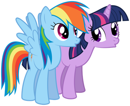 Twilight and Dash by bobsicle0
