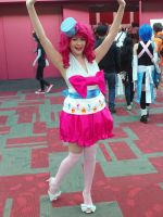 Grand galloping gala Pinkie Pie Fanime 2012 by Lightning-Kisaragi