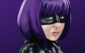 Hit-Girl by LordofTheSouls
