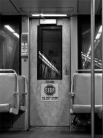Metro Car 1246, Orange Line by digitalpharaoh