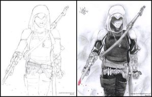 The Assassins- Before + After by Audrey-Taft