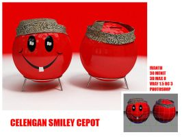 CELENGAN SMILEY CEPOT by ivanth