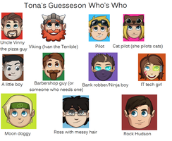 Tona's Guess by alicesapphriehail