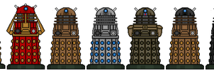 Time War Daleks by Stuart1001