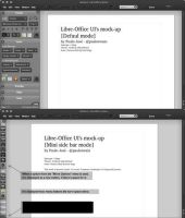 LibreOffice UI Mock-up dark 3 by pauloup