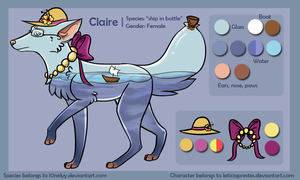 Claire Ref Sheet by leticiaprestes