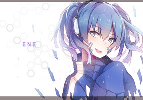 Mekaku City Actor Ene by Kanekiru