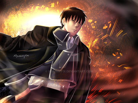 Roy Mustang by X1yummy1X
