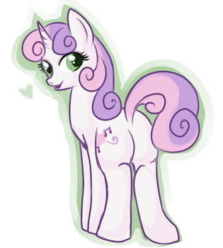 Sweetie Belle by lulubellct