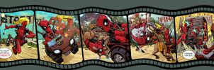 Deadpool Corps. 1 thru 5 by Devilpig