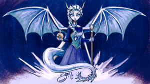 Dragon Elsa by Yamino