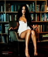 Megan Fox Retouch by sorianodesign