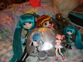 My Miku Pullip arrived!!! by Gubreez