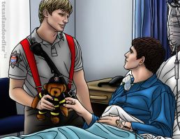 Merlin - Fire fighter AU series - (part 2 of a 5) by texasfandoodler