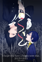 Sebastian and Ciel :manga color: by Fan-kot