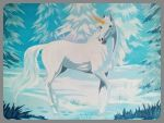 The Winter Unicorn by Sherryhill