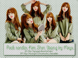 [Share] Render pack Kim Shin Yeong by Mayu by IvyNguyen