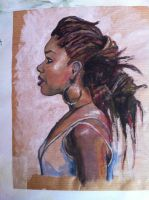 Study of a painting by Tim Okamura by Tammyyy