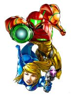 Samus Aran by LeadApprentice