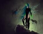 Queen Chrystalis by MeromMorem