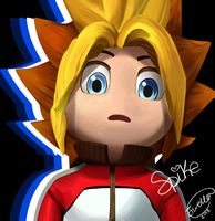 Spike from Ape Escape by familyof6