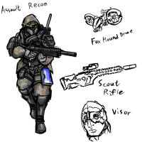 American Joint Assault Recon by rooki1
