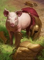 Pig Token by namesjames