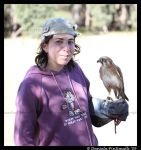 Falcon and me by TVD-Photography